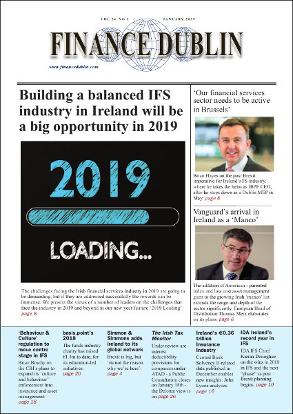January 2019 Issue of Finance Dublin