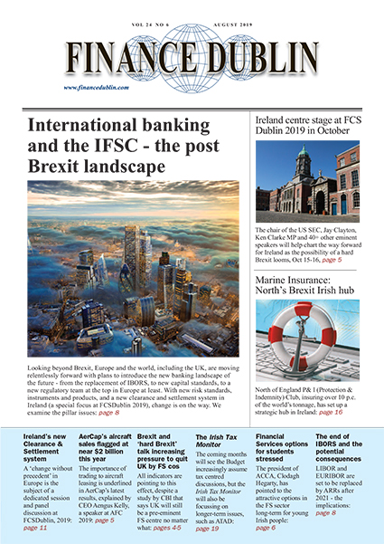 August 2019 Issue of Finance Dublin