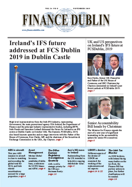 November 2019 Issue of Finance Dublin