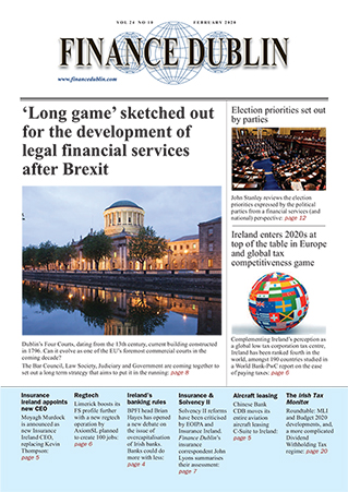 February 2020 Issue of Finance Dublin