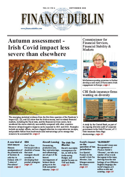 September 2020 Issue of Finance Dublin