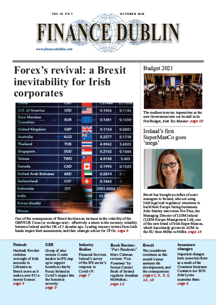 October 2020 Issue of Finance Dublin