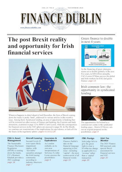 November 2020 Issue of Finance Dublin