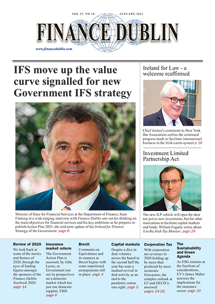 January 2021 Issue of Finance Dublin