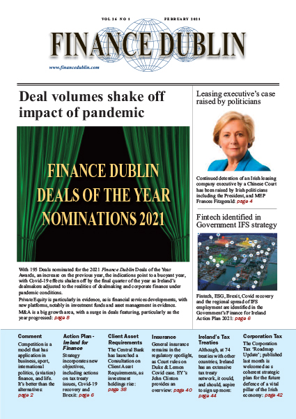 February 2021 Issue of Finance Dublin