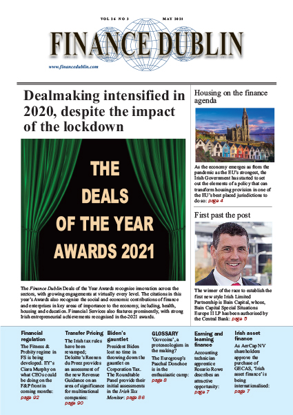 May 2021 Issue of Finance Dublin