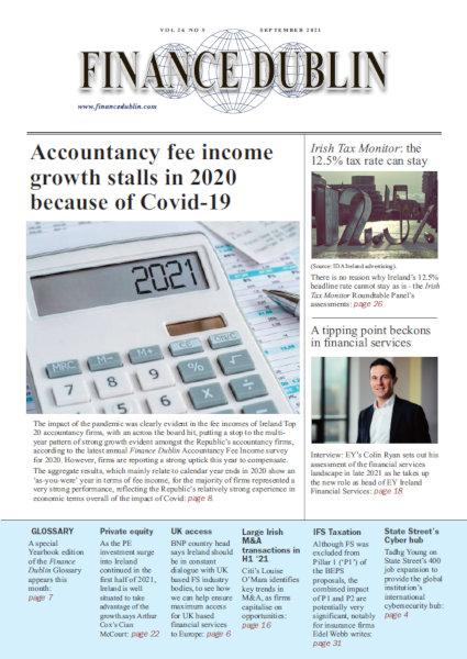 September 2021 Issue of Finance Dublin